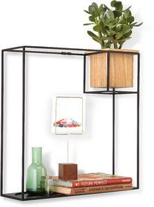 Umbra - etagère design avec jardinière - Multi Level Wall Shelf