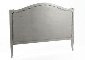 Amadeus - tête de lit grise en bois bayur marine - Headboard