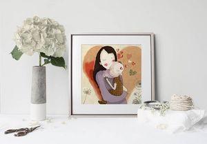 la Magie dans l'Image - print art aurore - Decorative Painting