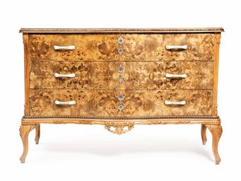 RELOADED DESIGN - blonde radical chic - unique piece - Chest Of Drawers