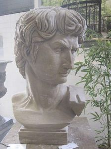 Livingstone Terrasso - david - Bust Sculpture