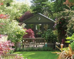Home Office Garden Rooms -  - Summer Pavilion