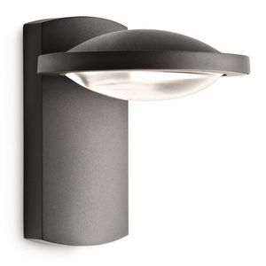 Philips - applique led noire freedom h19 cm ip44 - Outdoor Wall Lamp