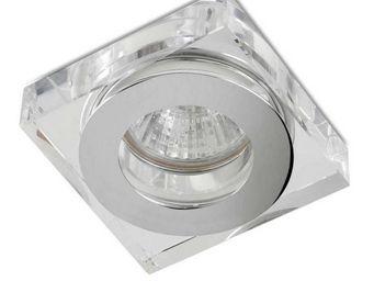 Leds C4 - spot encastrable à basse tension carré eis ii 12v  - Recessed Spotlight