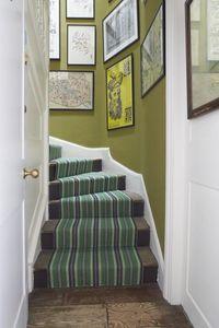 Roger Oates - masai emerald - Stair Carpet