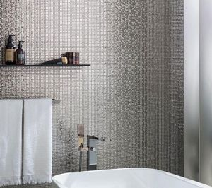 Porcelanosa Groupe - bombay silver-- - Mosaic Tile Wall