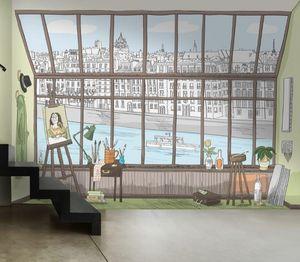 IN CREATION - paris atelier bd - Wallpaper