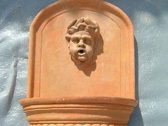 Ceramiques du Beaujolais -  - Wall Fountain