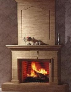 Cheminee Coquard -  - Open Fireplace