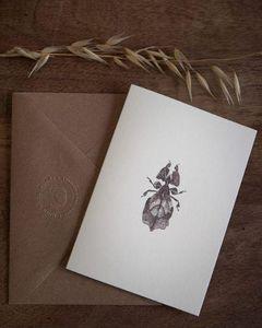 NINN APOULADAKI - philidae - Thank You Card