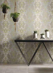 MATTHEW WILLIAMSON - grey &lime viceroy - Wallpaper