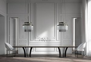 Hugues Chevalier -  - Rectangular Dining Table