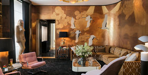 de Gournay - namban - Panoramic Wallpaper