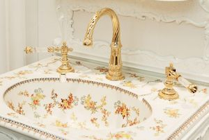 Volevatch - versailles-- - Three Hole Basin Mixer