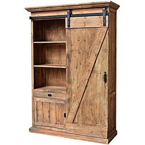 CHEMIN DE CAMPAGNE - grande haute armoire bibliothèque de style campagn - Bookcase