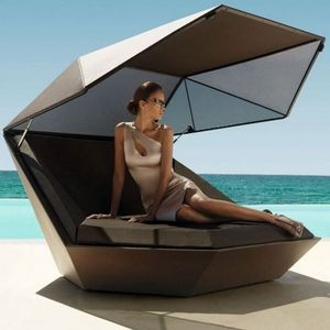 VONDOM - lit d'extérieur faz de vondom - Sun Lounger