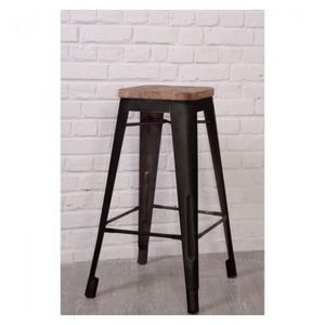Mathi Design - tabouret de bar loft - Bar Stool