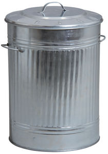 Aubry-Gaspard - poubelle de cuisine en zinc lourd - Kitchen Bin