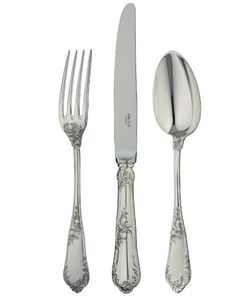 Ercuis - rocaille - Cutlery