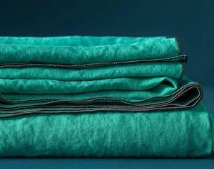 BLANC CERISE - autour du lin ' - Rectangular Tablecloth