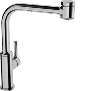 HANSA -  - Kitchen Mixer Tap With Spray Attachment
