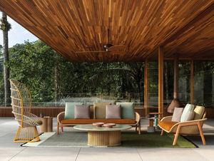 Kettal - vimini - Garden Sofa