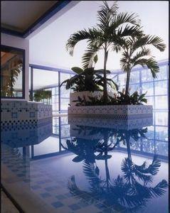 Emaux de Briare - cascade / harmonies - Pool Tile