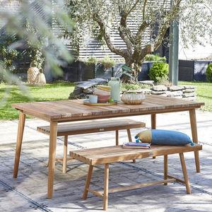 BOIS DESSUS BOIS DESSOUS -  - Garden Table
