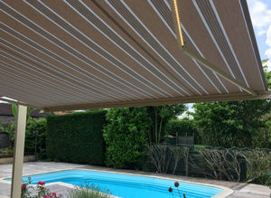 STORES MARQUISES - ambre lux - Patio Awning