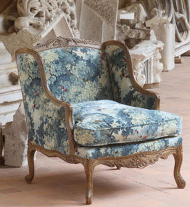 Moissonnier - regence- - Wingchair With Head Rest