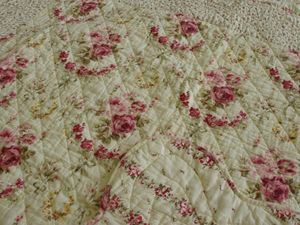 Autrefois Claire Puyala -  - Quilted Blanket