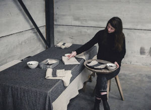 Libeco Home - thompson - Rectangular Tablecloth
