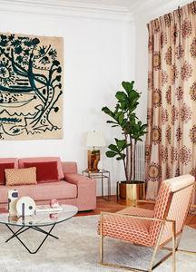 Manuel Canovas - villars corail - Upholstery Fabric