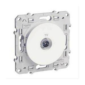 Schneider Electric - prise téléviseur 1403911 - Tv Socket