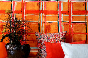 LALIE DESIGN - madras curry - Fabric By The Metre