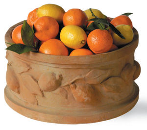 CAPITAL GARDEN PRODUCTS - citrus round - Fruit Dish