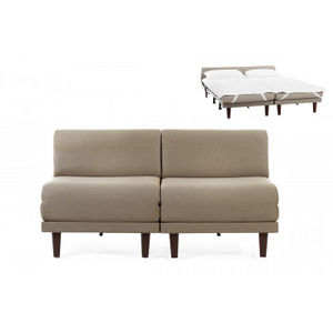 Likoolis - pacduo70s-filotaupe - Daybed