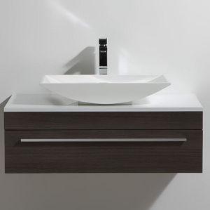 Thalassor - curl 90 legno - Vanity Unit