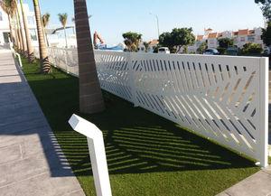 CRUZ CUENCA -  - Fence With An Openwork Design