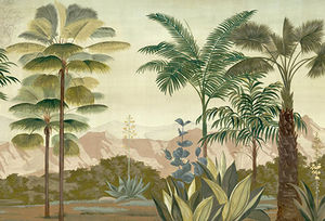 Ananbô - les palmiers de kalaho couleur - Panoramic Wallpaper