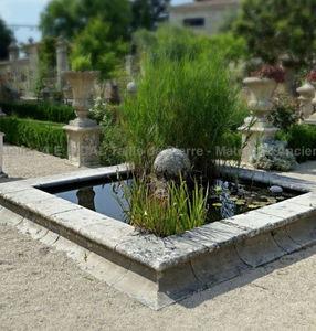 Atelier Bidal - bassin carré - Garden Pond