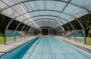 AbrisudPro - _-cintré - Large Pool Enclosure For Professionals