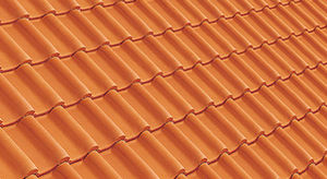 Imerys Toiture - panne h2 huguenot - rouge - Roof Tile
