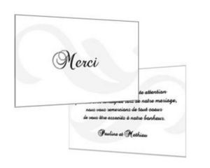 GROUPE 111 -  - Thank You Card