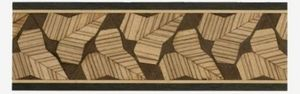 Marquetry border