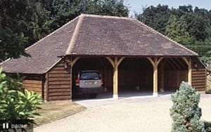 English Heritage Buildings -  - Car Shelter