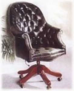 Philip Hunt Antiques -  - Executive Armchair