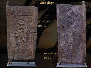 Timor -  - Antique Door