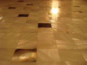 Marbrerie Des Yvelines - nacre - Mosaic Floor Tile