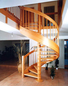 Schody Stadler - vreteno - Spiral Staircase